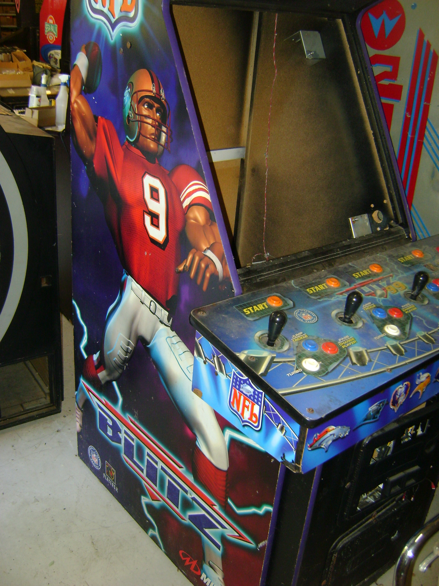 nfl blitz arcade machine for sale
