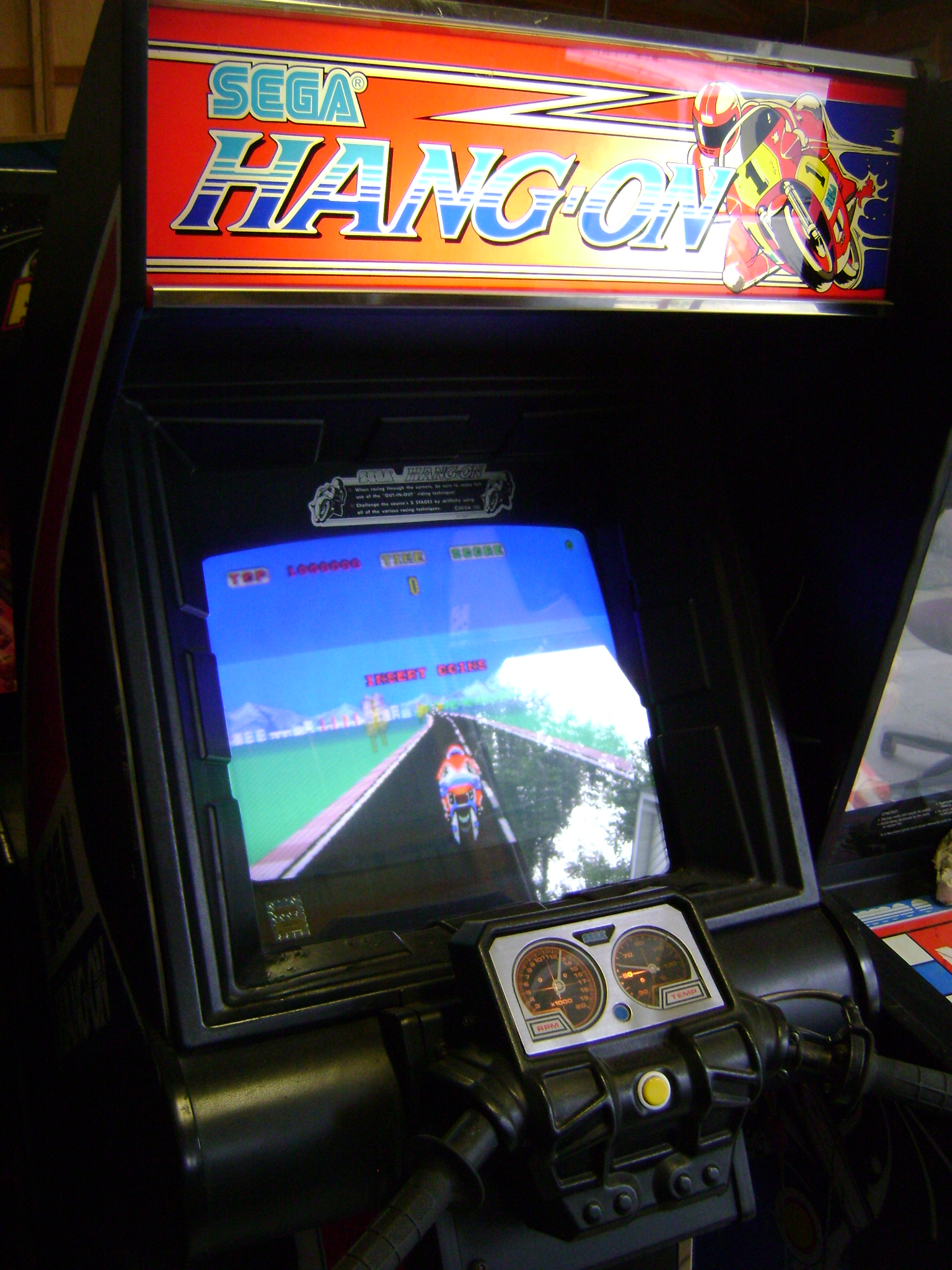 Hang On Arcade Machine