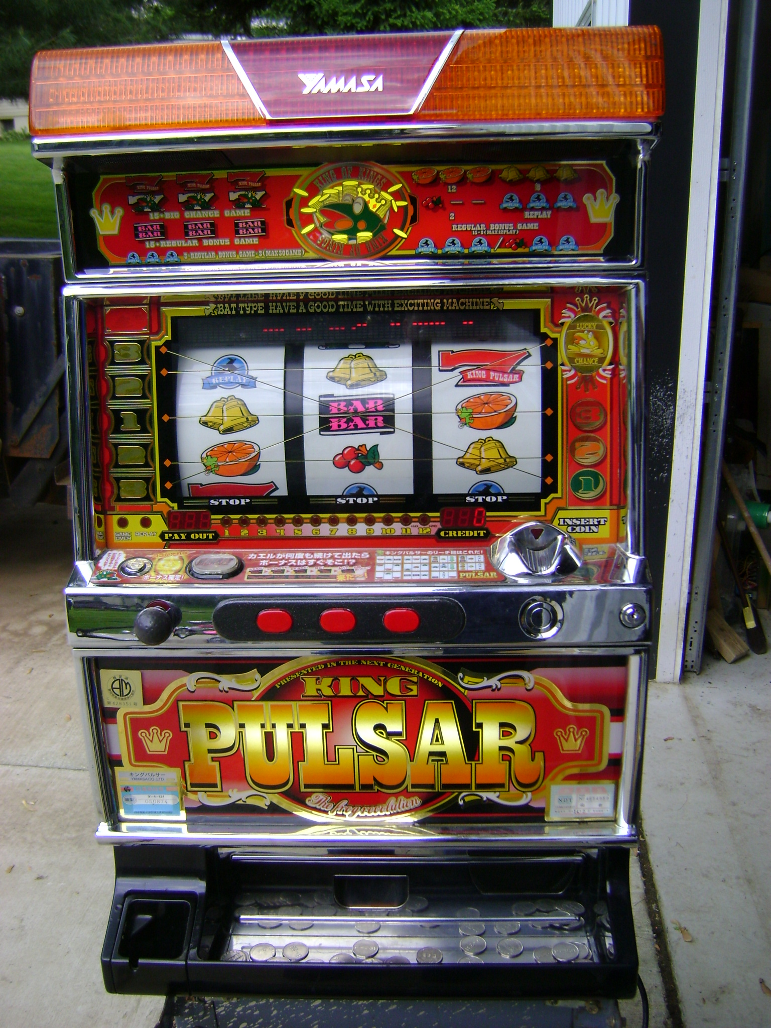 Regolamento slot machine