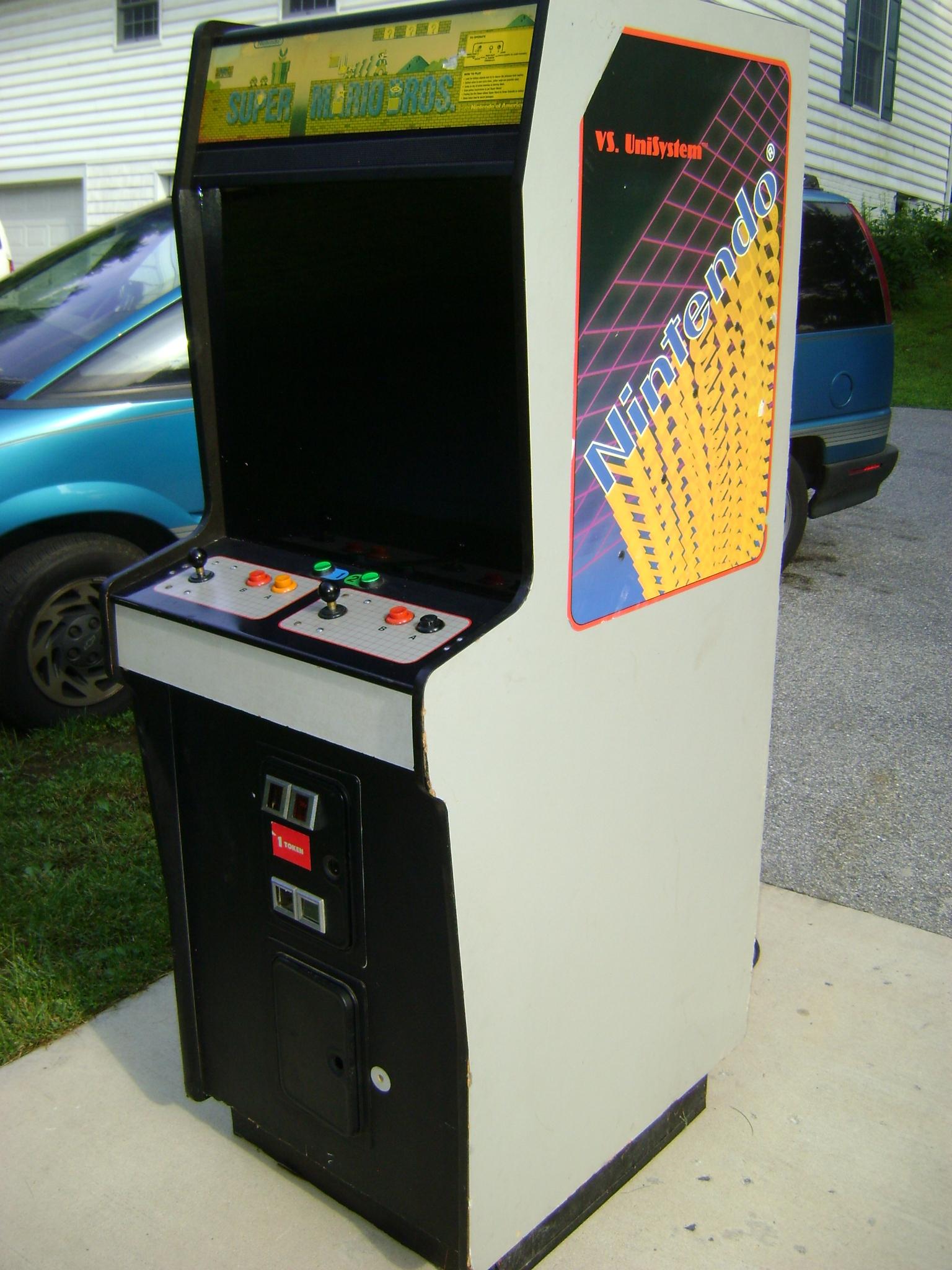Super Mario Bros Arcade Machine Super Mario Bros Arcade Machine